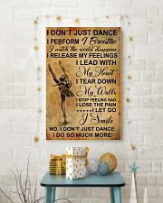 I DON'T JUST DANCE 11x17 Poster lifestyle-holiday-poster-3
