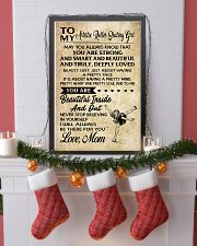 4-TO MY Artistic Roller Skating GIRL- MOM kd 16x24 Poster lifestyle-holiday-poster-4