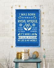 15 I WAS BORN TO BE A SOCIAL WORKER POSTER 11x17 Poster lifestyle-holiday-poster-3