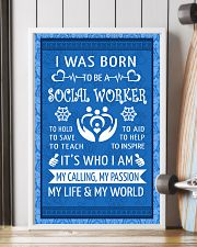 15 I WAS BORN TO BE A SOCIAL WORKER POSTER 11x17 Poster lifestyle-poster-4