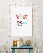 TAEKWONDO BESTIES BECAUSE GOING CRAZY 11x17 Poster lifestyle-holiday-poster-3