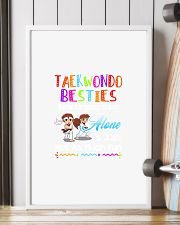 TAEKWONDO BESTIES BECAUSE GOING CRAZY 11x17 Poster lifestyle-poster-4
