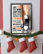 14- I DON'T TEACH TO WIN COMPETITION - TAP DANCE 11x17 Poster lifestyle-holiday-poster-4