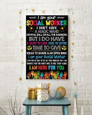I AM YOUR SOCIAL WORKER POSTER 11x17 Poster lifestyle-holiday-poster-3
