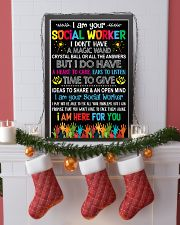 I AM YOUR SOCIAL WORKER POSTER 11x17 Poster lifestyle-holiday-poster-4
