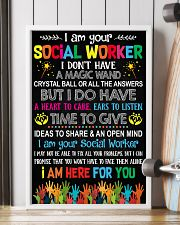 I AM YOUR SOCIAL WORKER POSTER 11x17 Poster lifestyle-poster-4