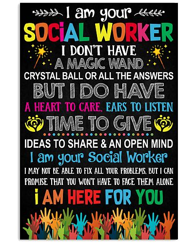 I AM YOUR SOCIAL WORKER POSTER