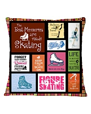 FIGURE SKATING DECOR PILLOWCASE Square Pillowcase front
