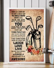 golf- TODAY IS A GOOD DAY POSTER 2 11x17 Poster lifestyle-poster-4
