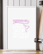 I'M TAEKWONDO GIRL THE SWEETEST 11x17 Poster lifestyle-poster-4