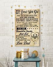 TO MY SOCIAL WORKERS - DAD 16x24 Poster lifestyle-holiday-poster-3