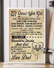 TO MY SOCIAL WORKERS - DAD 16x24 Poster lifestyle-poster-4