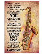 7- TENOR SAXOPHONE - TODAY IS A GOOD DAY POSTER 11x17 Poster front