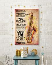 7- TENOR SAXOPHONE - TODAY IS A GOOD DAY POSTER 11x17 Poster lifestyle-holiday-poster-3