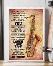 7- TENOR SAXOPHONE - TODAY IS A GOOD DAY POSTER 11x17 Poster lifestyle-poster-4