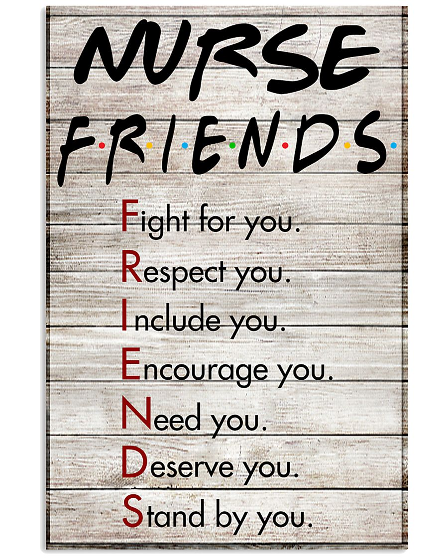 NURSE FRIENDS POSTER 11x17 Poster
