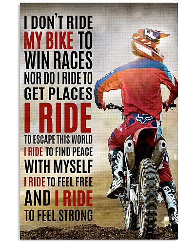 I RIDE - Poster