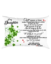 TO MY DAUGHTER- ONE UPON A TIME POSTER- MOM DELETE Rectangular Pillowcase tile