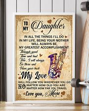 Saxophone - My Love Poster Blanket SKY 16x24 Poster lifestyle-poster-4