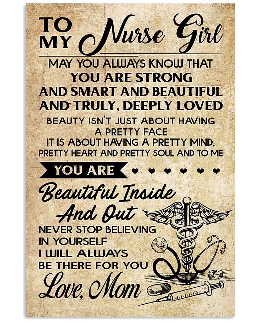 TO MY Nurse Girl 11x17 Poster