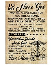 TO MY Nurse Girl 11x17 Poster front