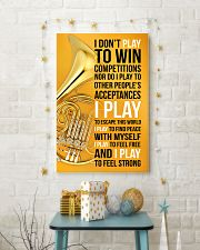 HORN - I DON'T PLAY TO WIN COMPETITIONS 11x17 Poster lifestyle-holiday-poster-3