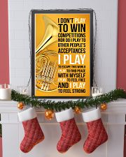 HORN - I DON'T PLAY TO WIN COMPETITIONS 11x17 Poster lifestyle-holiday-poster-4