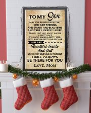 TO MY SON 16x24 Poster lifestyle-holiday-poster-4