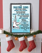 SKATING SONS - DON'T LET TODAY'S TROUBLES POSTER  11x17 Poster lifestyle-holiday-poster-4