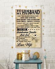 TO MY HUSBAND- WIFE 16x24 Poster lifestyle-holiday-poster-3