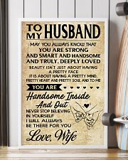 TO MY HUSBAND- WIFE 16x24 Poster lifestyle-poster-4