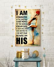 12- GYMNASTICS DAUGHTER - FOR MY GOD-KINGHIS 16x24 Poster lifestyle-holiday-poster-3