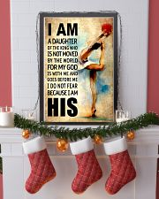 12- GYMNASTICS DAUGHTER - FOR MY GOD-KINGHIS 16x24 Poster lifestyle-holiday-poster-4
