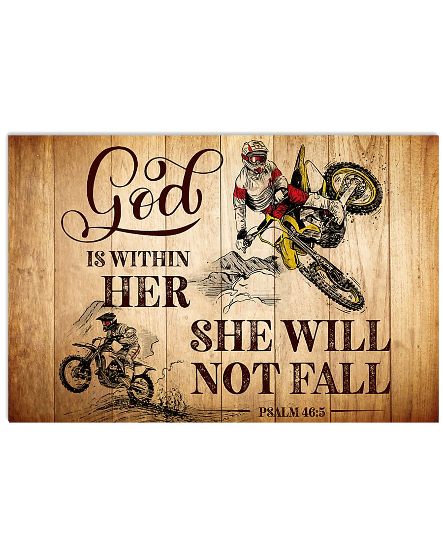 MOTOCROSS - GOD IS WITHIN HER 17x11 Poster