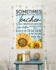 SOMETIMES IT ONLY TAKES A SINGLE TEACHER POSTER 11x17 Poster lifestyle-holiday-poster-3