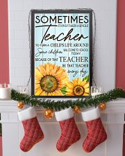 SOMETIMES IT ONLY TAKES A SINGLE TEACHER POSTER 11x17 Poster lifestyle-holiday-poster-4