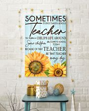 SOMETIMES IT ONLY TAKES A SINGLE TEACHER POSTER 16x24 Poster lifestyle-holiday-poster-3