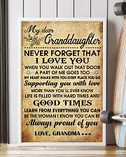 MY DEAR GRANDDAUGHTER 16x24 Poster lifestyle-poster-4