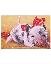 Pig Cute Watercolor Poter GL - TL 17x11 Poster front