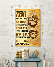 Dog - Never Regret A Day Poster SKY 11x17 Poster lifestyle-holiday-poster-3
