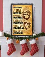 Dog - Never Regret A Day Poster SKY 11x17 Poster lifestyle-holiday-poster-4