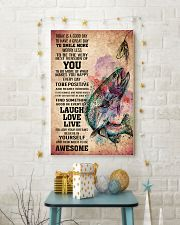 FISHING - TODAY IS A GOOD DAY POSTER 11x17 Poster lifestyle-holiday-poster-3