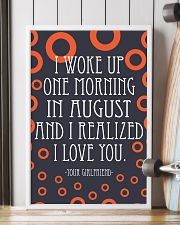 August- I WOKE UP ONE MORNING 16x24 Poster lifestyle-poster-4