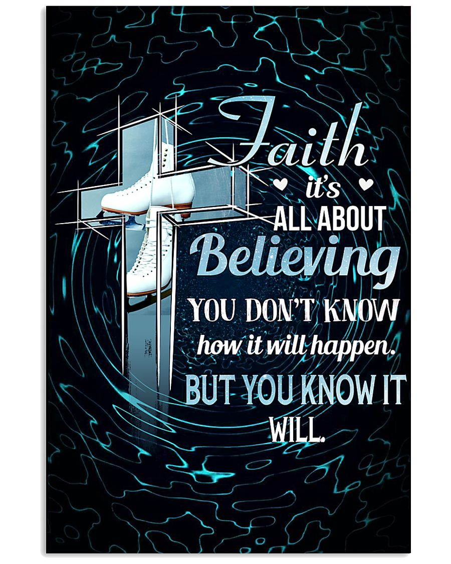 SKATING - FAITH IT'S ALL ABOUT BELIEVING 11x17 Poster