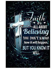 SKATING - FAITH IT'S ALL ABOUT BELIEVING 11x17 Poster front
