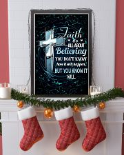 SKATING - FAITH IT'S ALL ABOUT BELIEVING 11x17 Poster lifestyle-holiday-poster-4