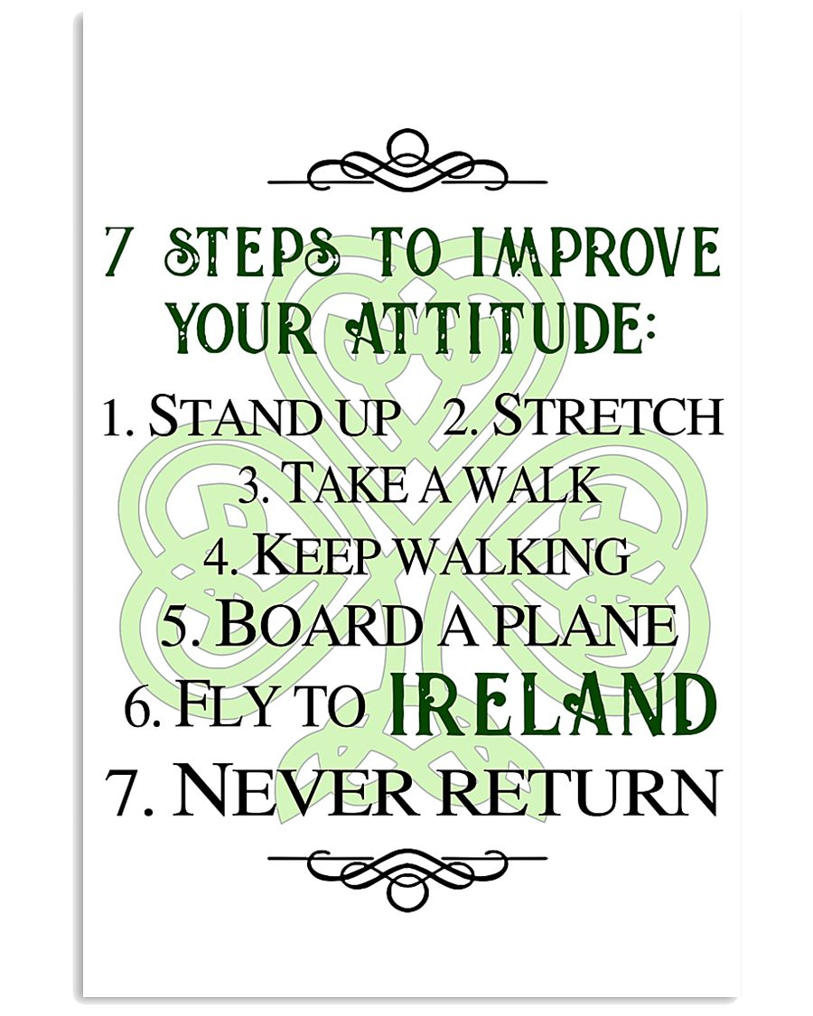 7 STEPS TO IMPROVE POSTER 11x17 Poster
