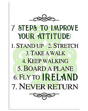 7 STEPS TO IMPROVE POSTER 11x17 Poster front