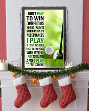 I DON'T PLAY TO WIN COMPETITIONS - GOLF 11x17 Poster lifestyle-holiday-poster-4