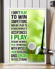I DON'T PLAY TO WIN COMPETITIONS - GOLF 11x17 Poster lifestyle-poster-4